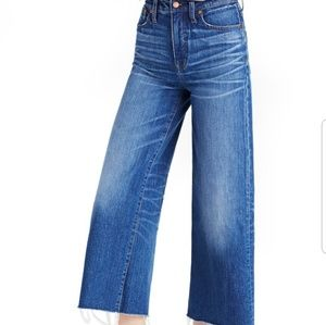 GUC Madewell Frida High Rise Cropped Jeans